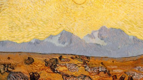 Van Gogh zonder bomen…