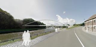 Infomarkt nieuwe bruggen voor Halle